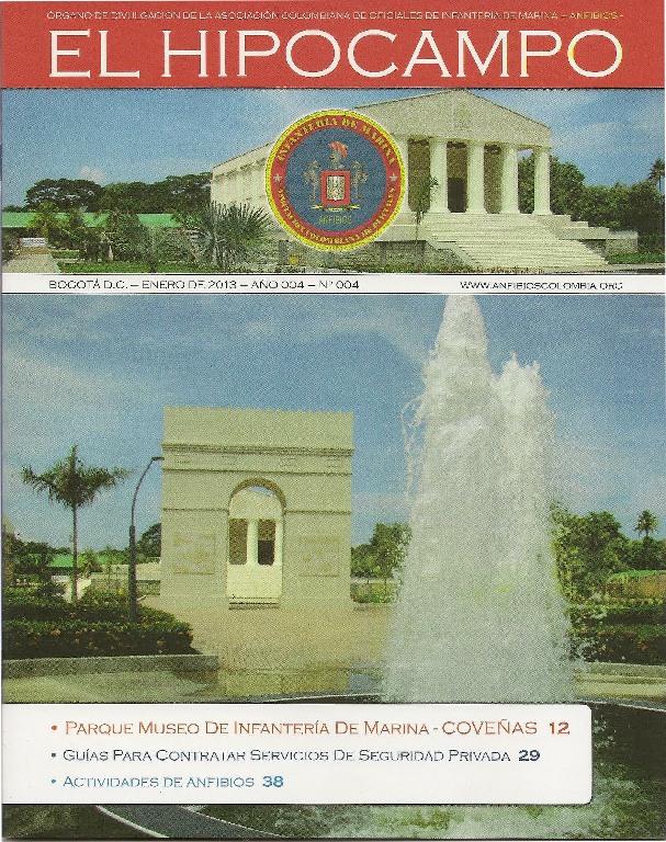 HIPOCAMPO EDICION Nº 4 - 2012