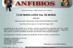 FALLECIMIENTO SRA. MADRE CRCIM (RA) LEONIDAS MUÑOZ