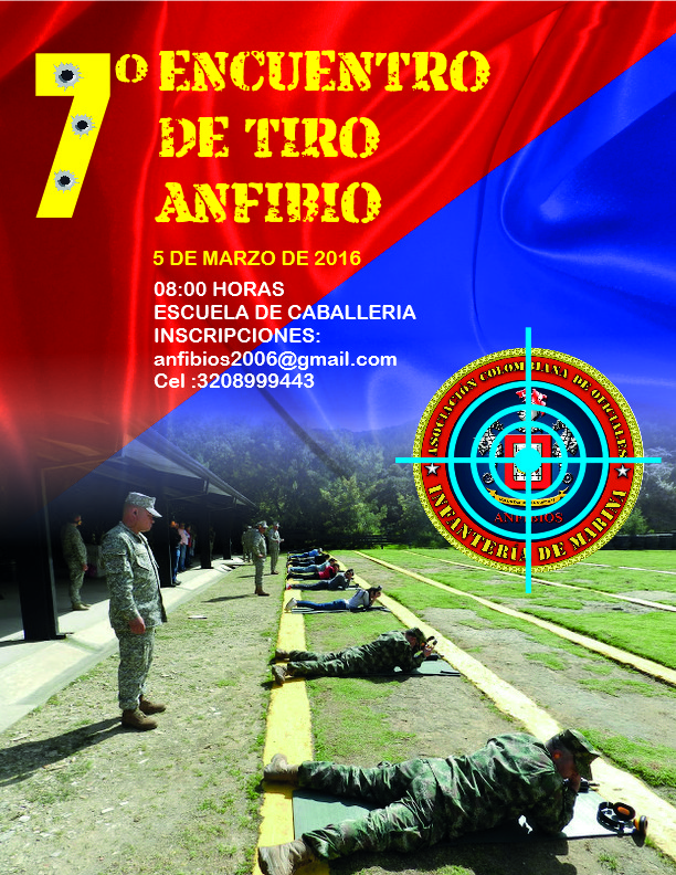 7º ENCUENTRO DE TIRO ANFIBIO - 05 MARZO 2016