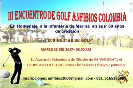 III TORNEO DE GOLF ANFIBIOS