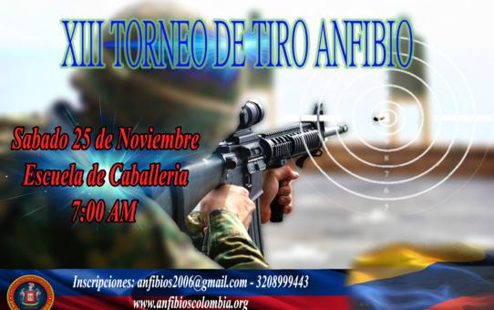 XIII TORNEO DE TIRO ANFIBIO