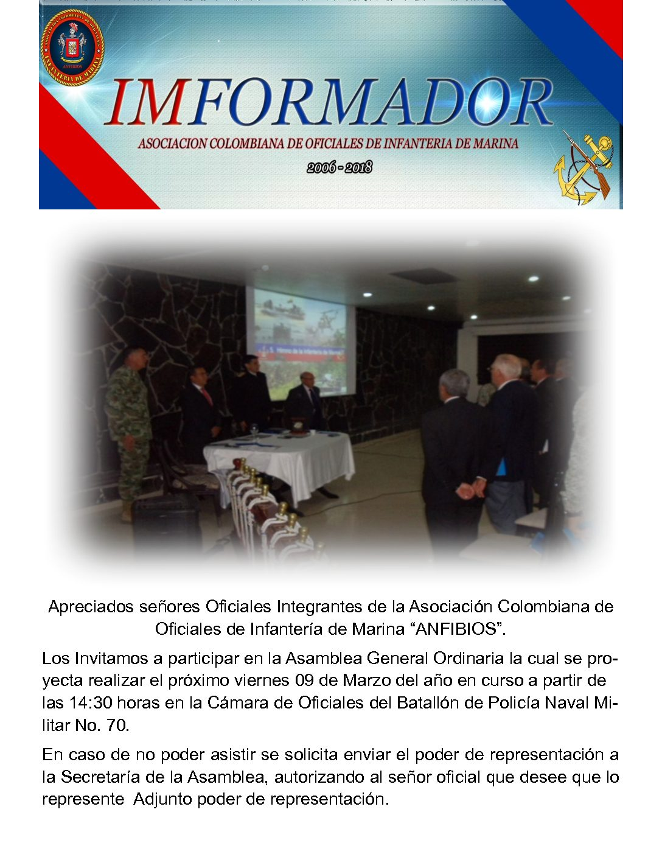 IMFORMADOR NR. 139 - ANFIBIOS 2018