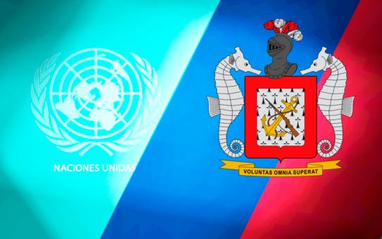 INFANTERÍA DE MARINA PRESENTE EN LA ONU.