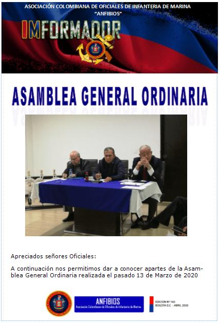IMFORMADOR NR. 165-ANFIBIOS 2020